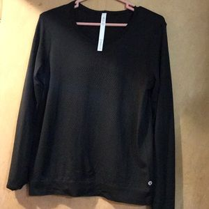 Lululemon black Breeze By long sleeve 8.